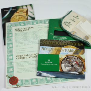 Rolex Papers Booklets Certificate Acessories
